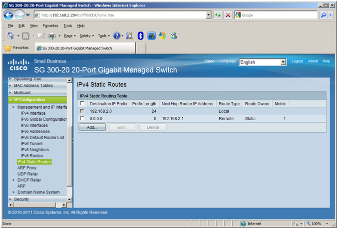 How to setup VLANs on a Cisco SG 300-20 Managed Switch