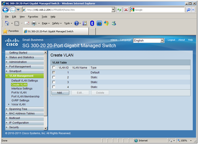 how to create vlan on cisco switch 3750
